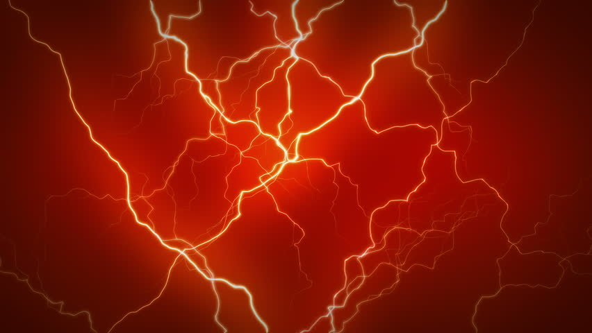 4k Abstract Lightning Thunder Thunderstormflash Power Storm