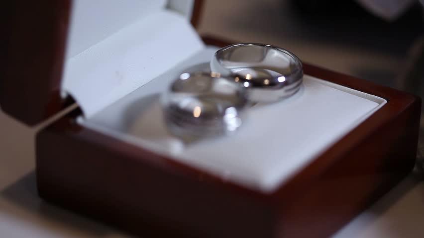Wedding Rings In White Gold Two Wedding Rings In Box Wedding
