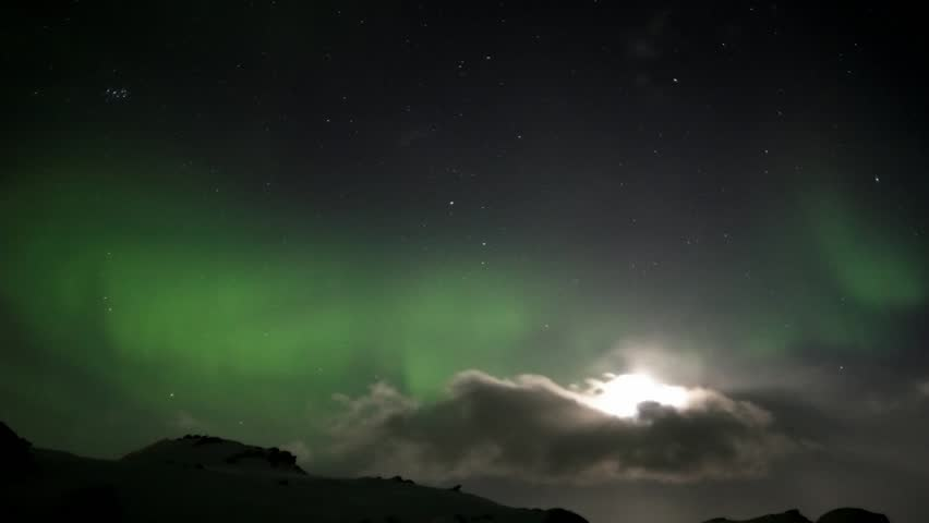 Arctic - the land of the northern lights