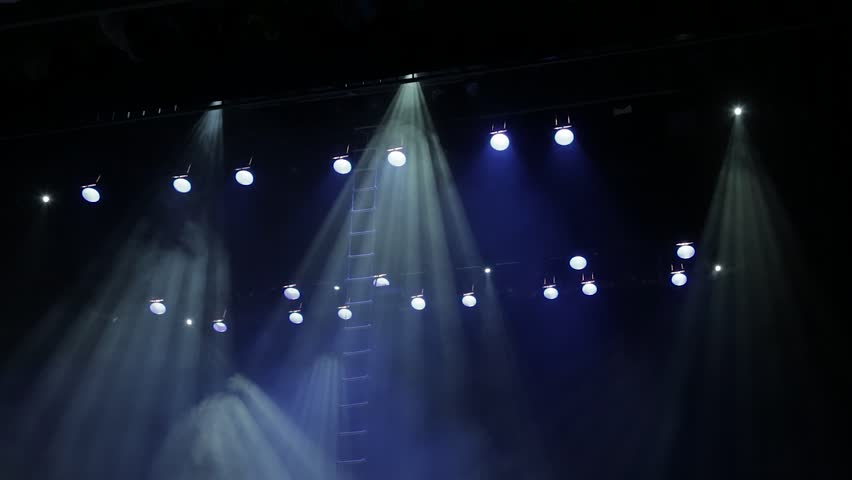 Scanners, spotlights and theatrical smoke | Shutterstock HD Video #19968598