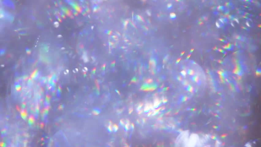 background brilliance of diamonds, rainbow reflection