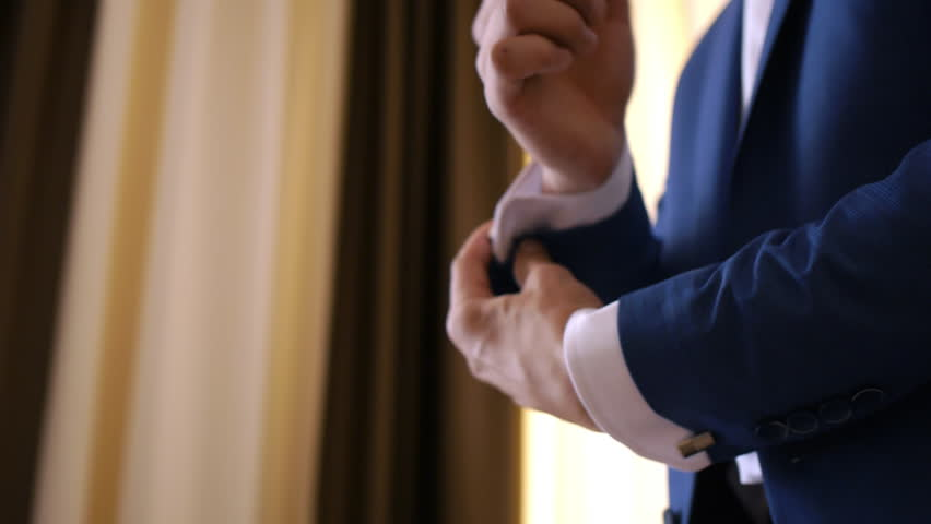 83fecb47cae2 Stylish Groom in Blue Luxury Stock Footage Video (100% Royalty-free ...