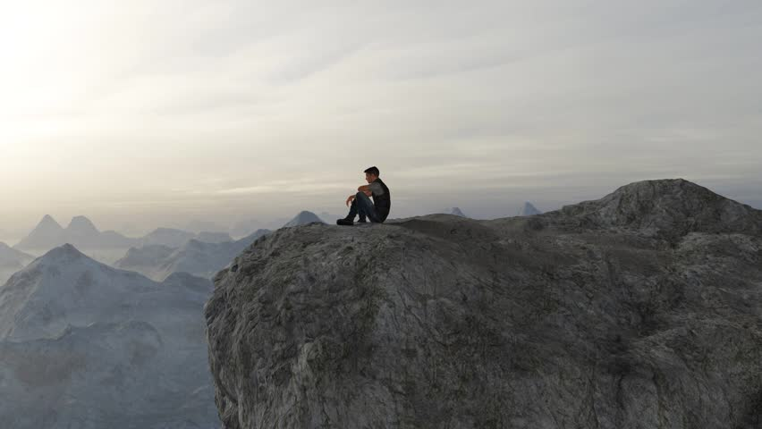 High up in the mountain | Shutterstock HD Video #20236888