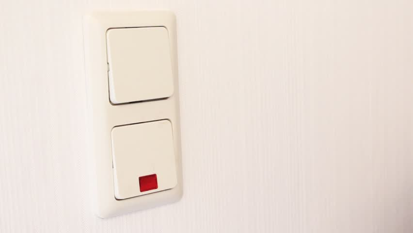 Sequence Of Switches Being Turned Off