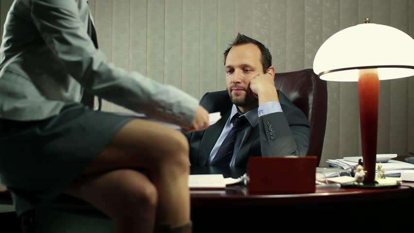Sexy secretary clips