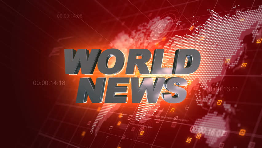 Breaking news 3d motion graphics world map red background 4k videos world news 3d broadcast animation red world map background 4k 4k stock video clip gumiabroncs Image collections