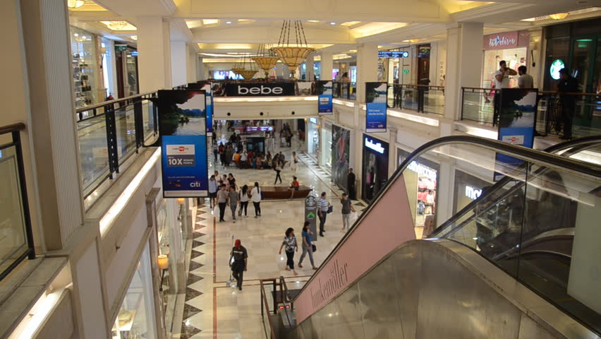 Promenade Mall,Vasant kunj, New Delhi, India- 1st April, 2016: Shot of people shooping, window shopping at a Mall in India | Shutterstock HD Video #20457292