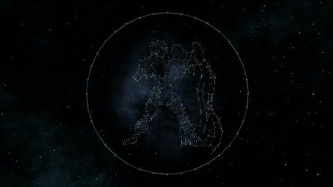 Capricorn Zodiac Sign of the Stock Footage Video (100