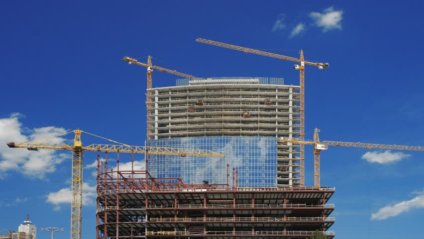 Under construction building