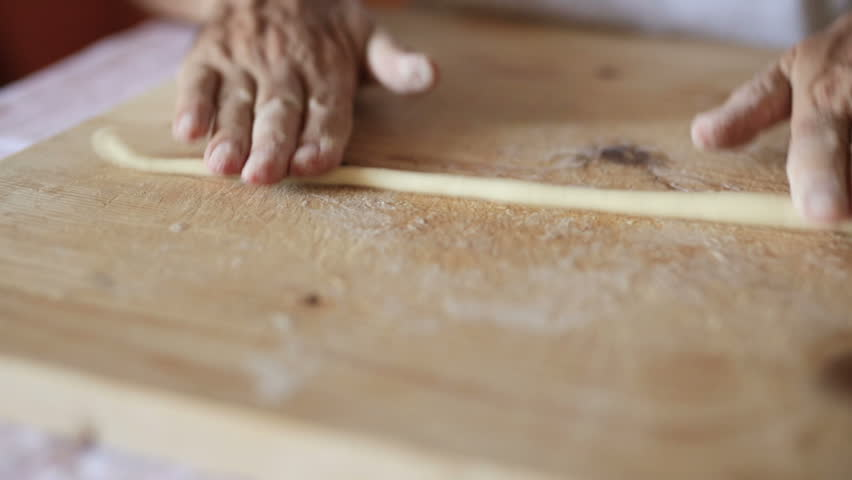 how to make pasta dough by hand video