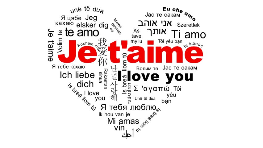 What do we call i love you in french
