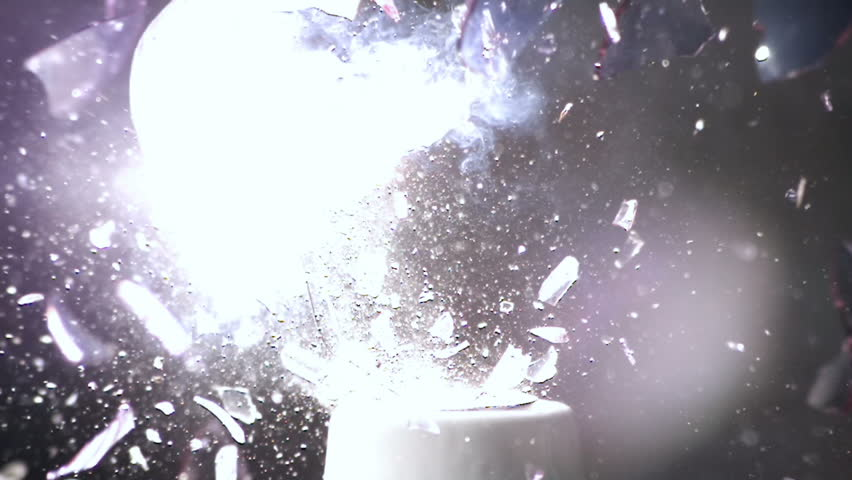 Light Bulb Explodes in Super Slow Motion Low Impact | Shutterstock HD Video #20655787