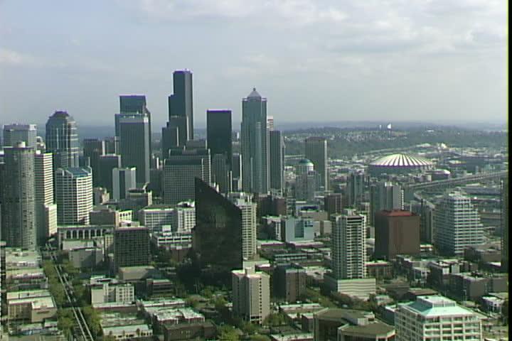 Seattle aerial zoom   Shutterstock HD Video #2066876