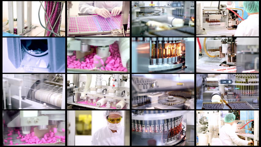 Medicine Production - Pharmaceutical Technology