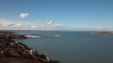 Timelapse of Howth Harbour, Ireland's Eye and North County Dublin