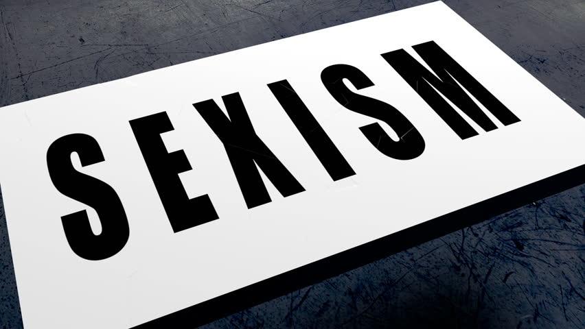Header of sexism