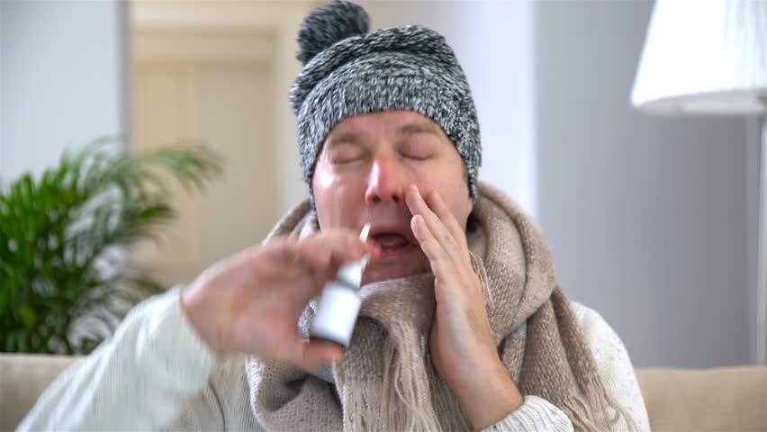 Cat sick sneezing runny nose