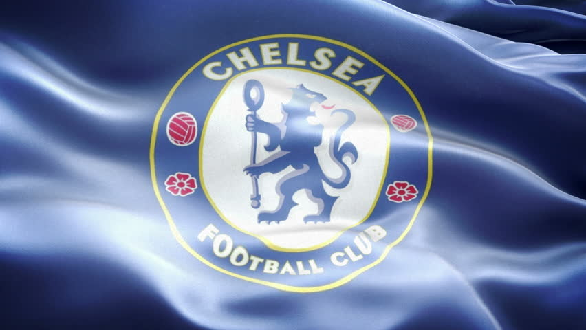 Close up of waving flag with chelsea fc football club logo london united kingdom 3 november 2016 animated logo of london football club chelsea voltagebd Gallery