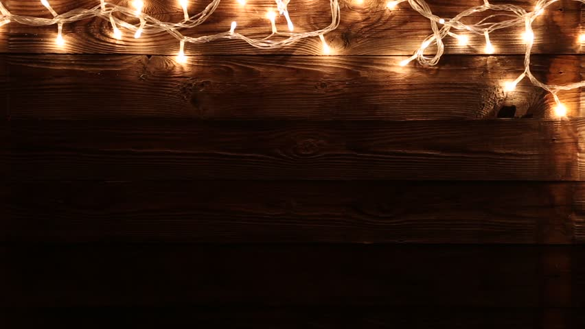 Light Bulbs On Wood Background Copy Space Stock Footage Video 13449710 Shutterstock