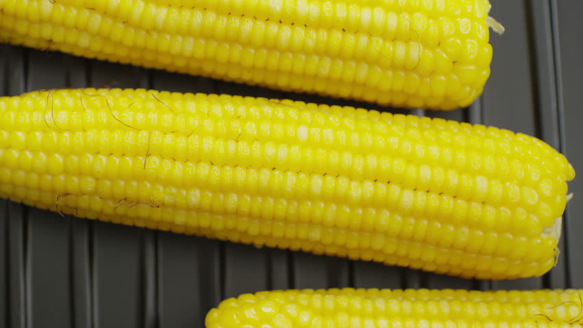 Dolly row of fresh sweet corn stock footage video 4639352 boiled and fried corns on pan shot on red epic cinema camera 4k ccuart Choice Image
