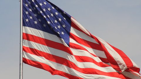 American flag, symbol of hope and freedom