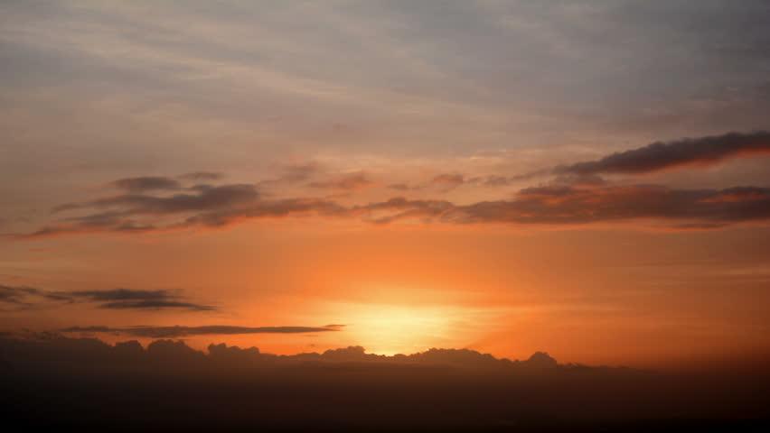 Eautiful Sunset Time-lapse Video   Shutterstock HD Video #21390400