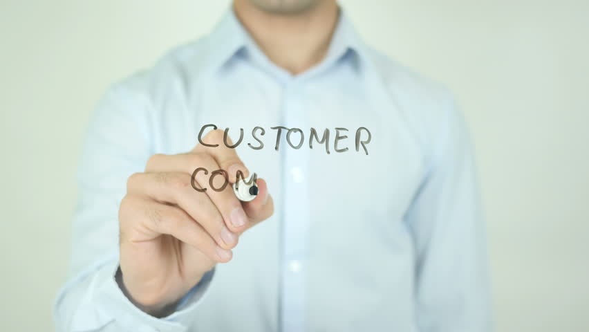 Customer Complaints, Writing On Transparent Screen