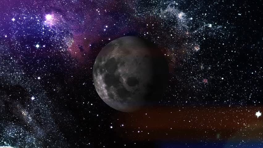 3d moon move universe animation Background graphic, You can put into a presentation, High definition quality, Beautiful space visuality, Made this the generation technology, abstract visualisation | Shutterstock HD Video #21623008