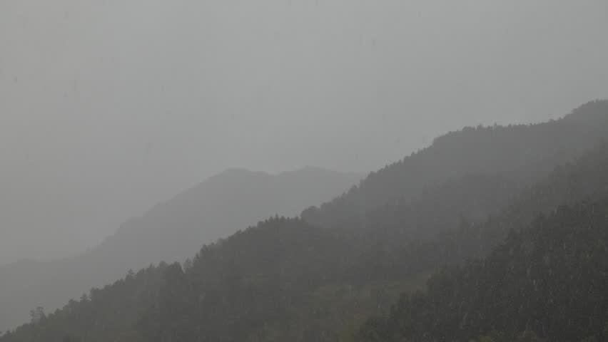 Time lapse of stormy and rainy weather in the Minho of northern Portugal.