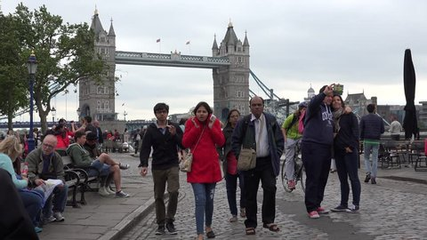 London, England - June 28, Stock Footage Video (100% Royalty