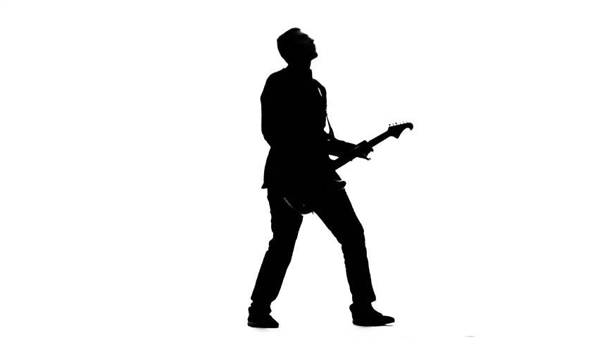 Bass Player Silhouette | www.pixshark.com - Images ...