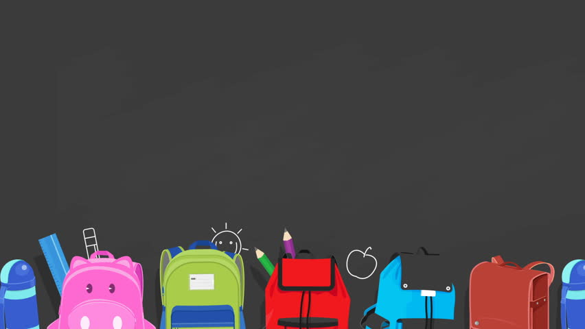 back to school background stock footage video shutterstock