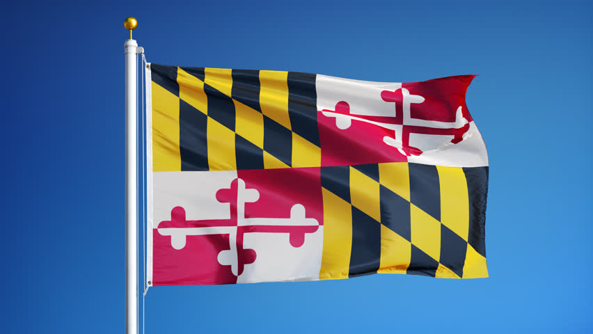 what does the maryland state flag represent