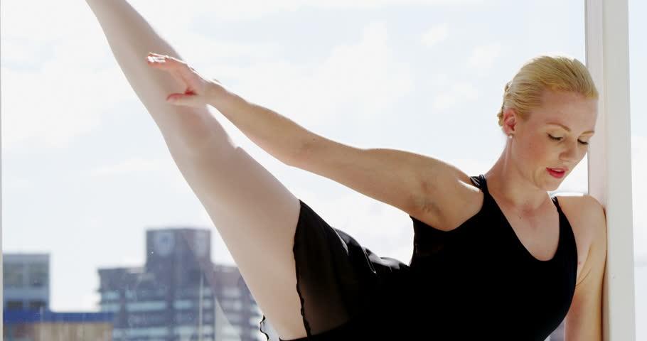 Ballerina practicing ballet dance in the studio | Shutterstock HD Video #21722128