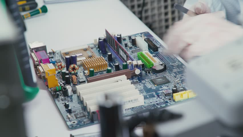 Some Computer Usb Port Components Stock Footage Video (100% Royalty-free)  21737698 | Shutterstock
