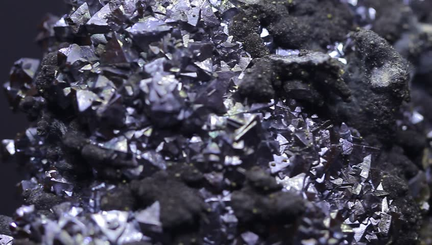 Natural mineral with many small details shallow focus | Shutterstock HD Video #21837268