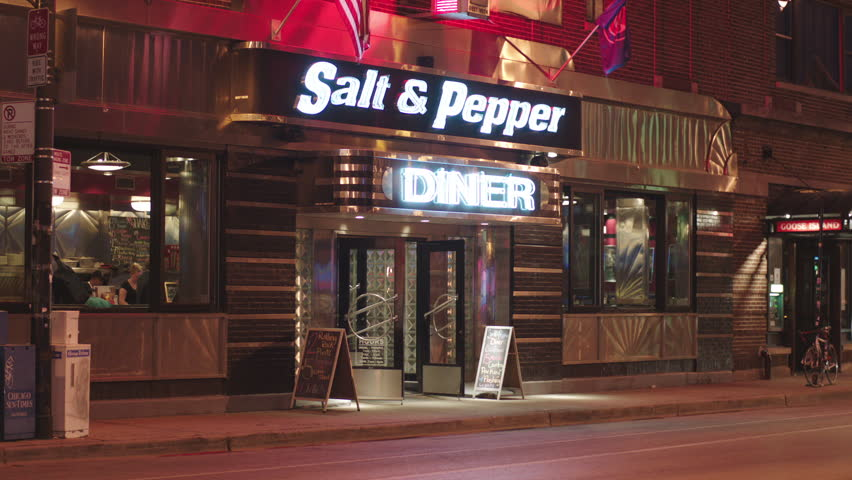 61a1f289a47 Night Salt Pepper classic diner