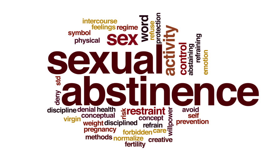 What is sexual abstinence
