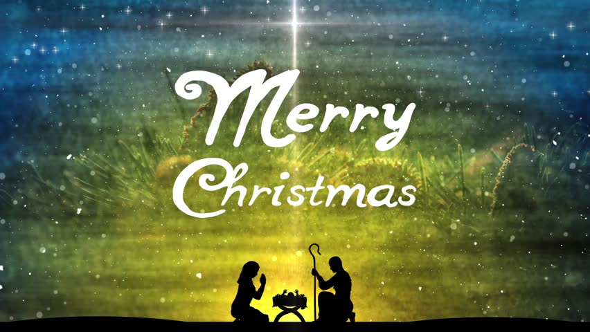 Merry Christmas Jesus.Merry Christmas Title Background Featuring Stock Footage Video 100 Royalty Free 21969298 Shutterstock