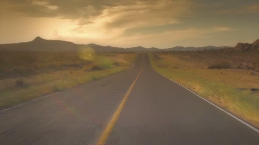 Desert Street of Mexico | Shutterstock HD Video #2198008