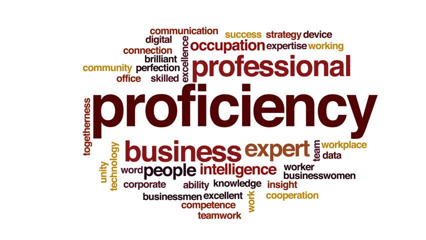 Header of proficiency