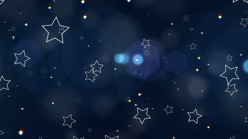 Abstract Stars Background Loop