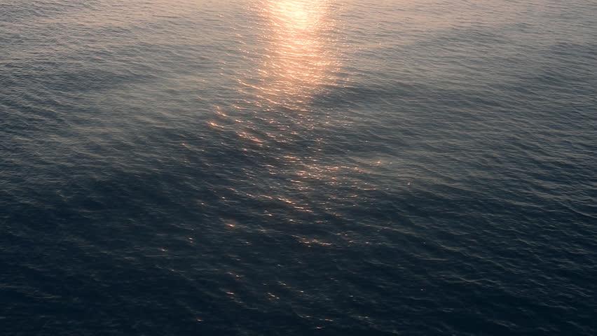 REAL DARK BLUE OCEAN WAVES. NATURE CLEAR BLUE OCEAN WAVE ...