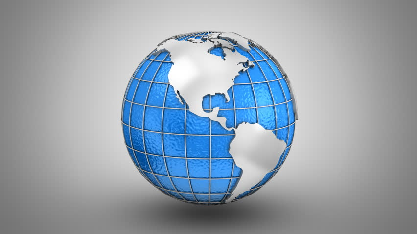 Stock video of world map turns into a globe 22185838 shutterstock gumiabroncs Choice Image