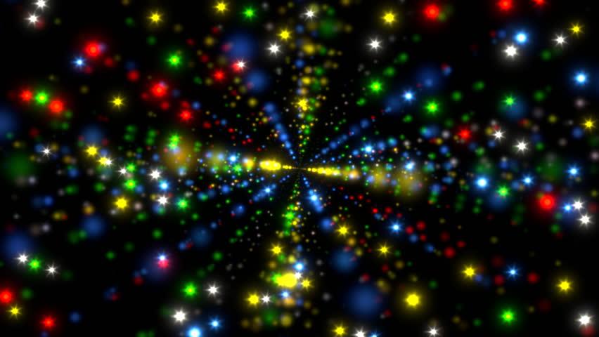 Christmas Lights Moving