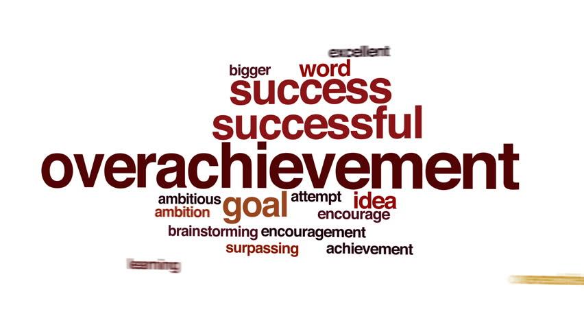 Header of overachievement
