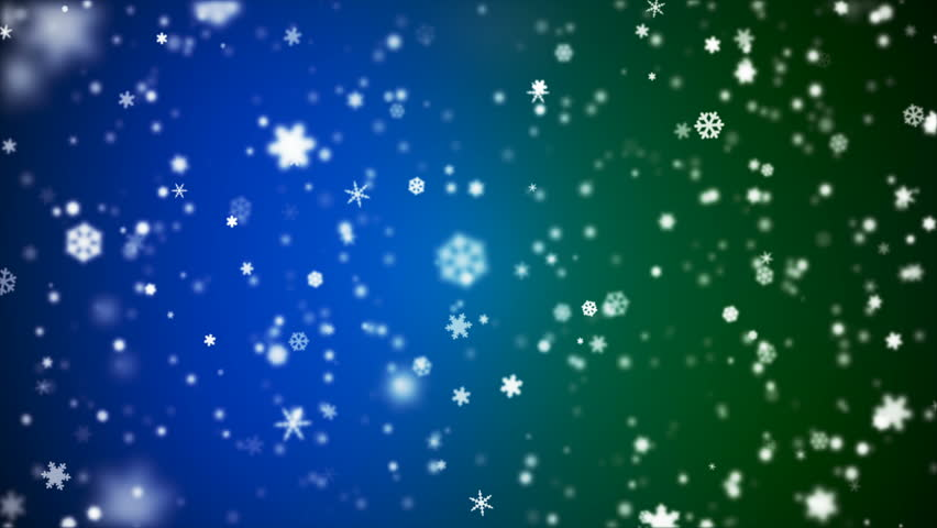 Broadcast Snow Flakes, Blue Green, Events, Loopable, 4K | Shutterstock HD Video #22497898