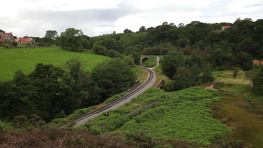 Lner Class A4 4498 Sir Nigel Gresley Steam Train; North Yorkshire Moors Railway | Shutterstock HD Video #22530538