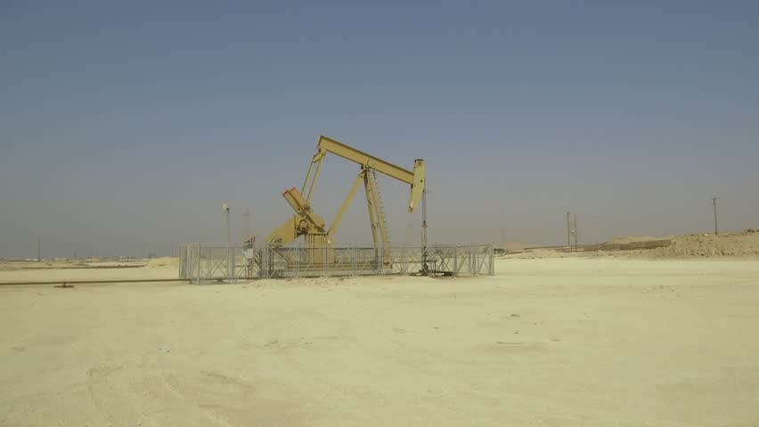 BPU crude oil pump in the oilfield | Shutterstock HD Video #22545169