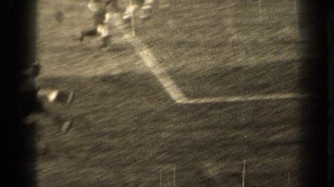 PARIS FRANCE 1947:  playing soccer